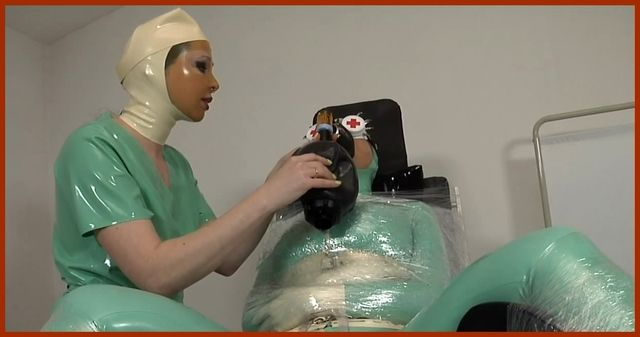 Fetish Clinic – Mistress Sandra , Valentina Fetish Doll – Kinky fetish games lesbos in hospital PT2 | HD 720p