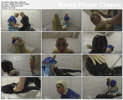 latex bondage in clinic