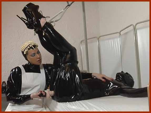 Fetish Clinic - Anna Rose , Phoenix - Latex dissolute nurse | HD 720p
