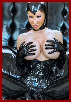 pics black latex on girl