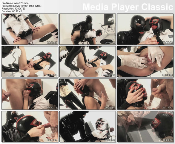 best blowjob from girl in rubber