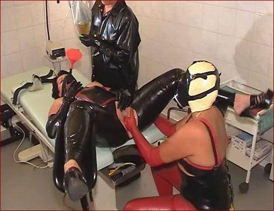 rubber clinic porn girls