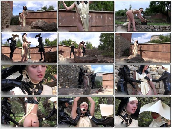 rubber fetish movies young lesbians in HD video