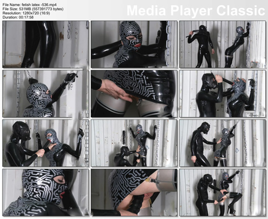 latex lucy porn clip with dildo