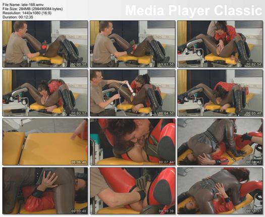 rubber lesbian fisting videos