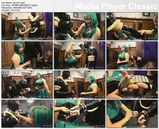 sissy maid transformation in fetish clip - part 2