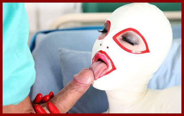 Rubber Passion - Latex Lucy - Hot blowjob and sex at clinic from lucy | 1200X800