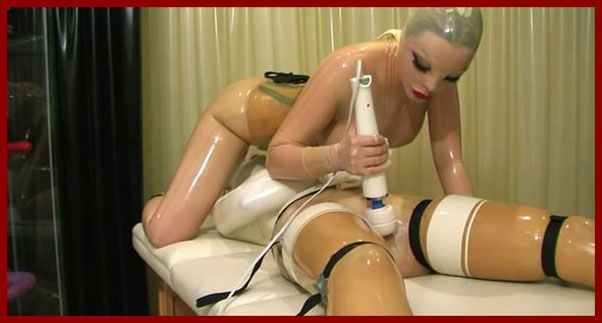 latex lucy sex doll clip