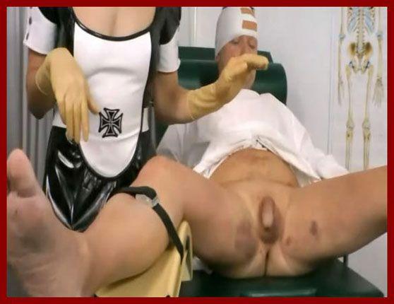 Baroness-Bijou.com – Baroness Bijou, Rubbin - Clinic Bizarre | WMV 576p