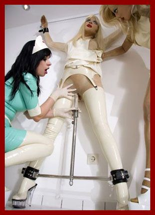 hot nurse in clinic