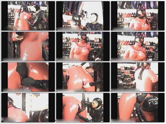rubber mistress slave bondage