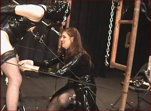 Castle Diabolica - Amanda Wildefyre - Bondage play with mistress [HD 720p]