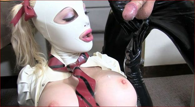 Latex Lucy - Sex with rubber school girl [HD 720p]