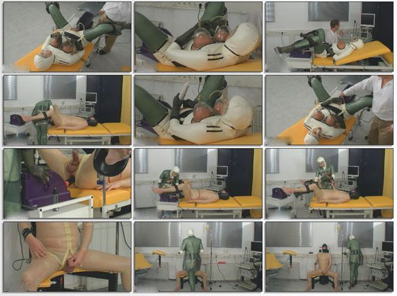 Fucked with vacuum in fetish clinic