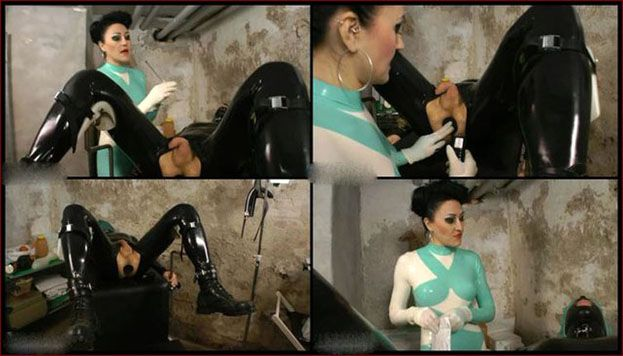 Baroness Bijou - Penis torture porn video with strict lady [WMV 576p]