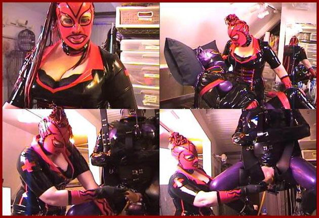 Castle Diabolica - Amanda Wildefyre - Rubber slut [HD 720p]