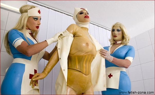 Nurse Sissy in collection of unusual fetish photos [JPEG 800x533]