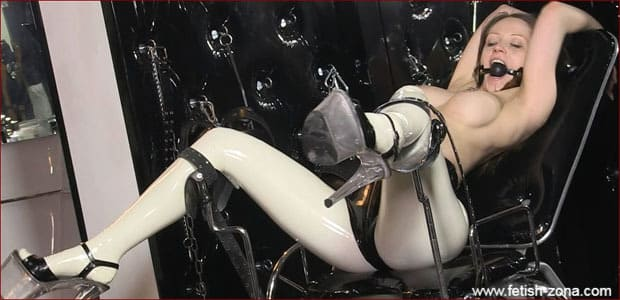 Dollrotic - Sexy babe doll with gagged [FULL HD 1080p]