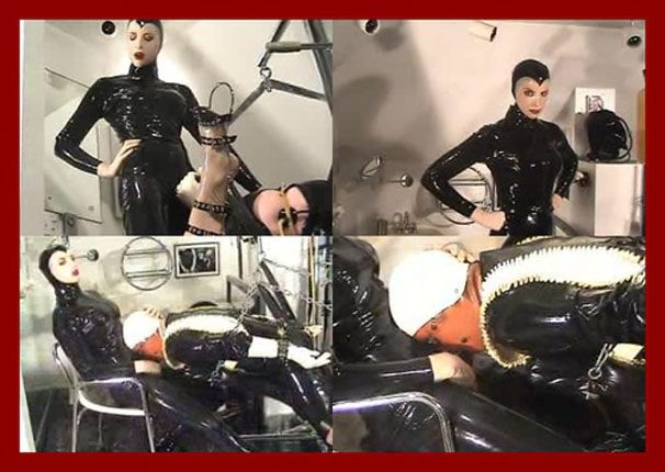 Mistress Amanda Wildefyre - Slavery and punishments from latex Mrs [MP4 320p]