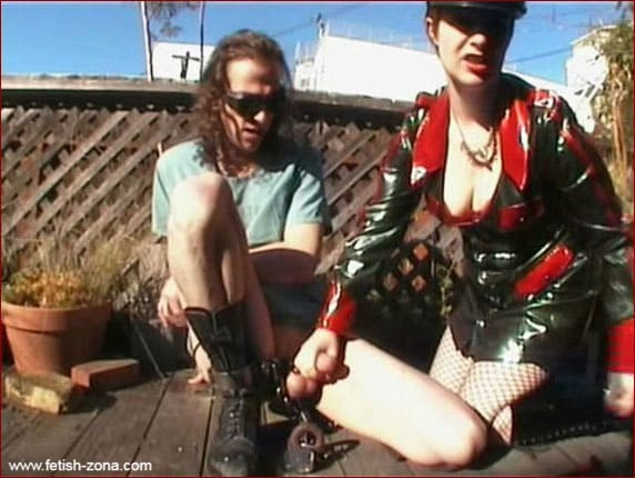 Mistress Alice - Hard cock and ball torture from Mrs [MP4 480p / Alice in BondageLand]