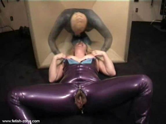 Mistress Alice - Female domination over man [MP4 480p / Alice in BondageLand]