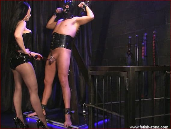 Mistress Nikita - Electric dick torture [HD 720p / Obeynikita]