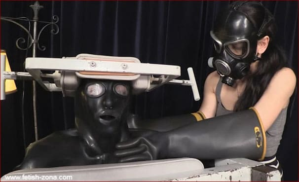 Elise Graves, Mercy West - Kink and fetish in heavy rubber [HD 720p]