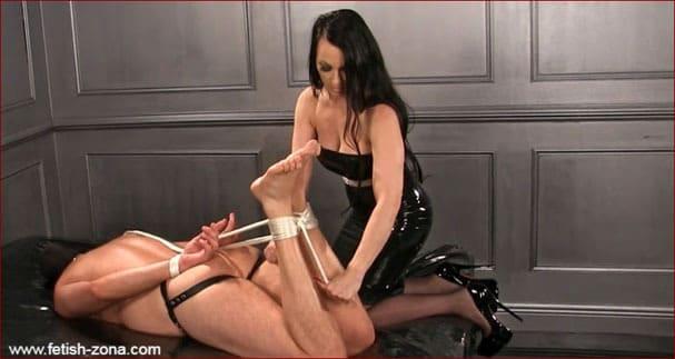 Obeynikita - Ropes bondage from Mistress Nikita in latex [FULL HD 1080p]