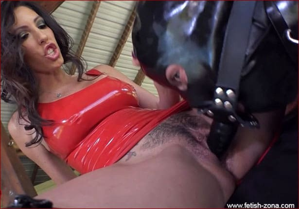 Dava Foxx, Kylie Rogue - Sexy femdom in latex dresses, hardcore dominated [FULL HD 720p]