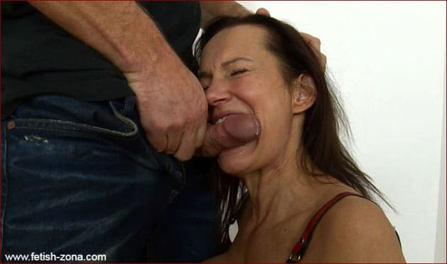 Deepthroat Blowjob from Latex Milf [FULL HD 1080p]