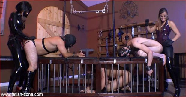 Jean Bardot, Paris Knight - Mistress destroys slave with fat strapon [HD 720p]