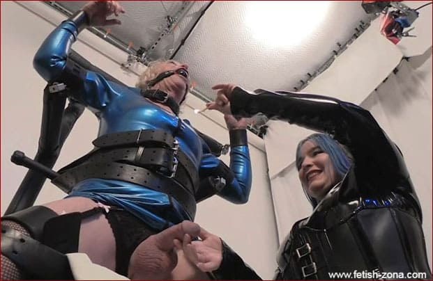 Mistress Alice Torments Bobbie's Penis Hot Wax [HD 720p]
