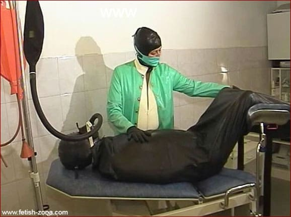 Medical Fetish and Rubber Perversions In Rubber Bag [WMV 576p]