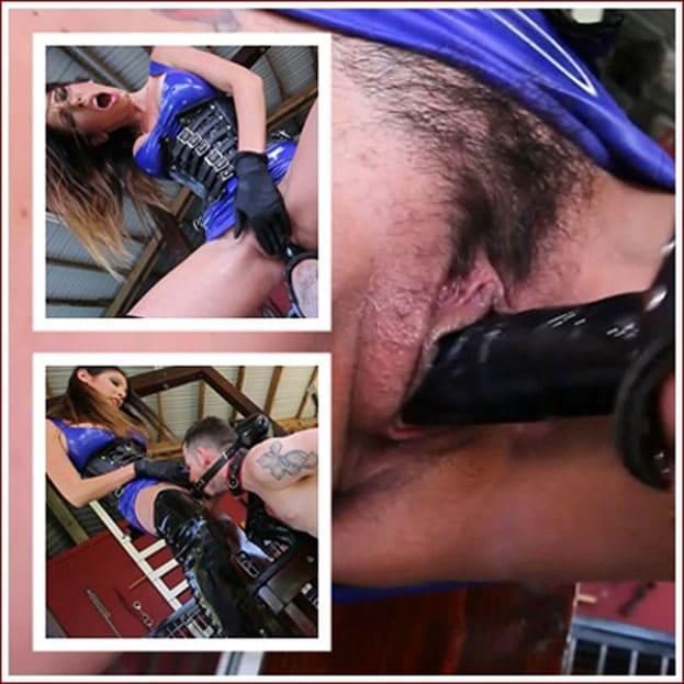Goddess Dava Foxx her slave