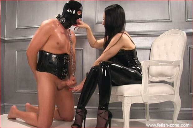 Mistress Nikita - Female domination clip with humiliated slave [HD 720p]