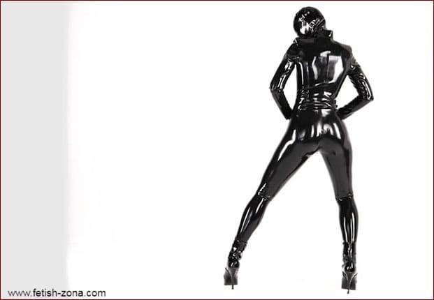 Sexy dance in black latex - FULL HD 1080p