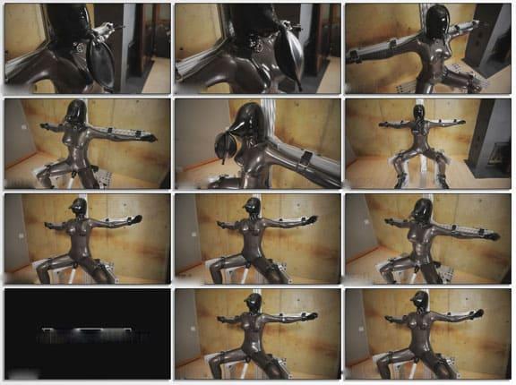 Breath Controle in Bondage Chair - FULL HD 1080p
