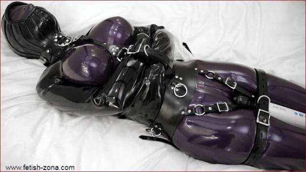 Vibrator bondage video