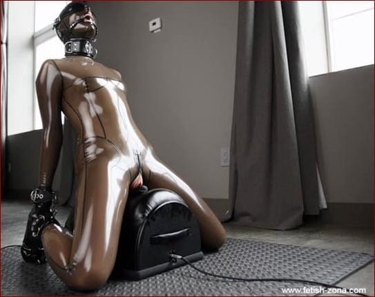 Sexplosion Latex Vespa On Vibrator - FULL HD 1080p