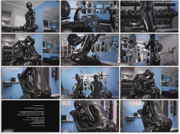 Vespa and Cam Damage in black latex - FULL HD 1080p
