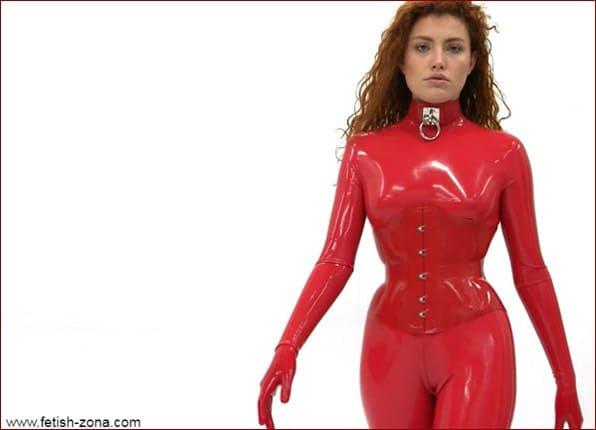 Kinki Venus in red latex - FULL HD 1080p
