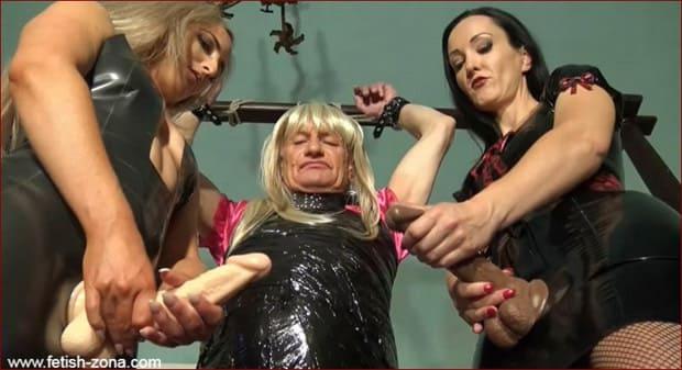 Bound TV maid mummified and whipped - HD 720p ( Sissy Humiliation )