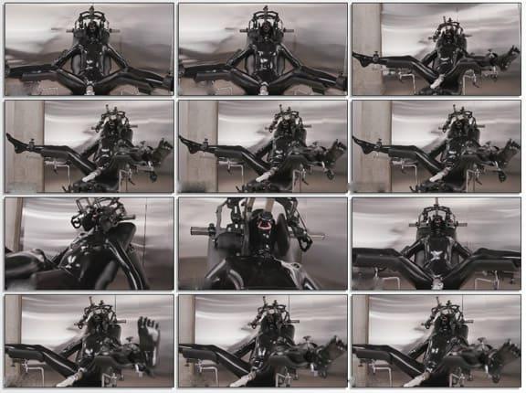 Vespa - Bound gagged videos with latex slave - FULL HD 1080p ( Sexplosion & Vibrator )