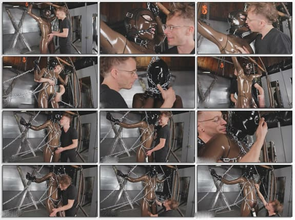 Breathplay torture in bondage of chains - FULL HD 1080p