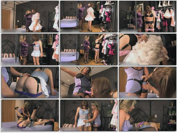 Dressed And Tied Humiliated Sissy - HD 720p