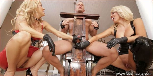 Alexis Fawx, Parker Swayze - Hardcore Milking from Blondes in Latex - HD 720p