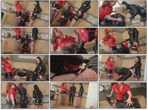 Fucked rubber maid