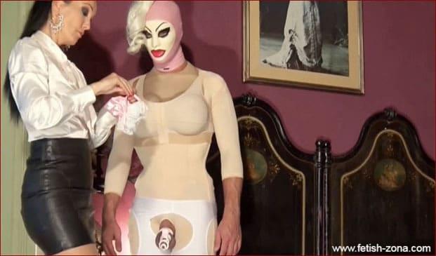 FETISH LIZA - Sissy transformation led by dominant woman - HD 720p