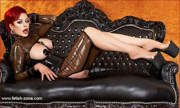 Lady Suna - Erotic dominance on fetish pics - JPEG 600x900